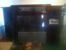 ZENITH TV AND PIONEER SURROUND SOUND w/Cabinet in Fort Polk, Louisiana