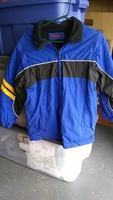 lightweight  reversible jacket ioth removable sleeves in Lockport, Illinois