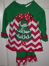 VGUC Rare Editions Christmas Tree 2 piece outfit ~ sz 9M in Kingwood, Texas
