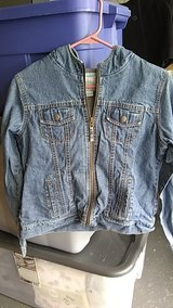 Old Navy girls denim jacket size 14 in Lockport, Illinois