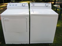 Washer and Dryer Maytag set (not digital-a regular washer and dryer) in Warner Robins, Georgia