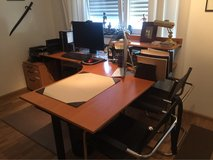 Home Office furniture with two chairs in Mannheim, GE