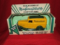 Ertl Montgomery Ward & Co. 1932 Ford Panel Delivery Truck Die-Cast Metal Bank in Westmont, Illinois