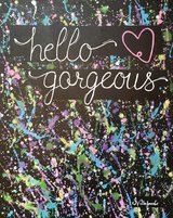 Hello gorgeous painting in Oceanside, California