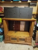 tv stand n kids bench box in Shorewood, Illinois