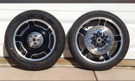 "Harley Bagger '09-'13 wheels low miles 18"" front 16"" rear in Fairfield, California"