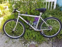 Miyata Silver Mountain Bike + Extras in Camp Lejeune, North Carolina