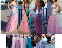 FORMAL / BALL / WEDDING / PROM Dress for sale - Pink Mermaid Style in Fairfield, California
