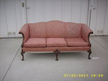 A Chippendale Pink Brocade Sofa for $900 in Temecula, California