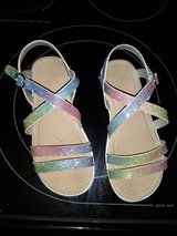 Girls sparkle rainbow sandals in Fort Campbell, Kentucky