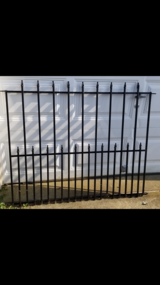 Iron fence in Bel Air, Maryland