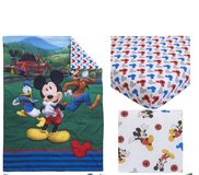 Mickey toddler sheet set in Lackland AFB, Texas