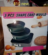 3 piece spring pans *new* in Fairfield, California