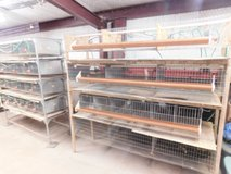 Quail cages in Ruidoso, New Mexico