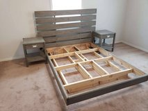 Made to Order Floating Platform Bed Frames and Night Stands in Fort Leonard Wood, Missouri