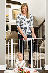 """Regalo Easy Step Walk Thru Gate, White, Fits Spaces between 29"""" to 39"""" Wide in Lancaster, Pennsylvania"""