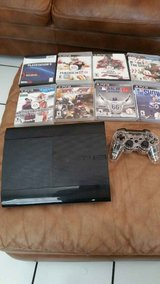 PS3, 2 Controllers and 8 games in Fort Rucker, Alabama