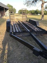 Heavy duty trailer all steel for car truck tractor bobcat etc 11000lb - $2995 (Hwy 10 Schertz) in Fort Sam Houston, Texas
