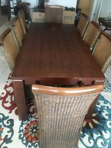 9 piece Dining Room Set w/ Hutch (Scott AFB) in Belleville, Illinois