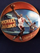 MICHEAL JORDAN 5 TIME NBA MVP COLLECTORS PLATE in Orland Park, Illinois