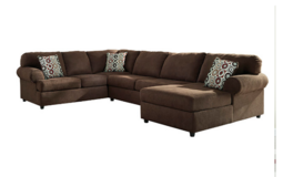 Microfiber sectional couch in Fairfield, California