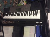 Casio LK 165. Dual volt keyboard, stand,music books in Ramstein, Germany