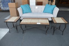 Tile Top Coffee Table & 2 End Tables in Fort Lewis, Washington