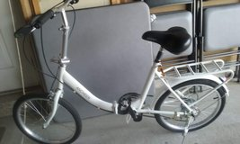 20 inch foldup bike ,Shimano 7 speed  rode 3 miles like new condition in New Lenox, Illinois
