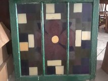 Stained glass hanging in Lawton, Oklahoma