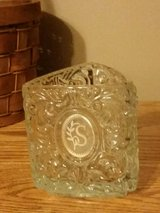 "AVON Heavy Crystal Monogrammed ""S"" Candle Holder in Fort Leonard Wood, Missouri"