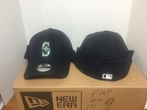 "SEATTLE MARINERS New Era ""39THIRTY"" Down Flap Hat (2 sizes to choose from) *** NEW in Fort Lewis, Washington"