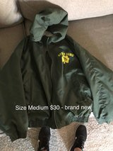 Notre Dame jacket in Travis AFB, California