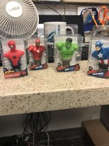 Avenger's Desktop Busts in Camp Pendleton, California