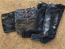 Junior's size 5 Mudd jeans and shorts in Chicago, Illinois
