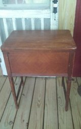 Vintage Wood Sewing Machine Cabinet Only in Fort Polk, Louisiana