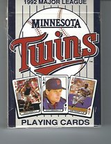 1992 Major League Baseball (MLB) Minnesota Twins Playing Cards in Fort Riley, Kansas