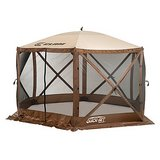Clam Outdoors Quick-Set® Escape™ 6-Sided Screen Shelter in Brown (Brand New) in Lockport, Illinois