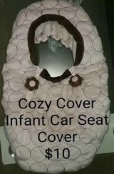 """Cozy Cover"" Infant Car Seat Cover in Alamogordo, New Mexico"