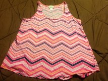 Large Stylus pink zig zag tank top in Manhattan, Kansas