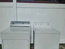 NEWEST KENMORE 800 WASHER AND DRYER WRINKLE AND MOISTURE FREE in Mayport Naval Station, Florida