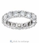 SALE TODAY***BRAND NEW***5 CTTW CZ Eternity Ring***SZ 9 in Cleveland, Texas