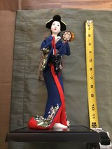 "Japanese Geisha Doll 12"" Tall- in excellent condition-smoke free home in Converse, Texas"