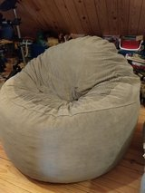 Corduroy bean bag chair in Lackland AFB, Texas