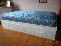 Twin Bed foundation and mattress in DeKalb, Illinois
