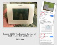 LENNOX Y2081 Touchscreen Thermostat - Used/ Like New Condition in Fort Rucker, Alabama