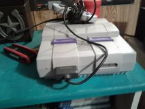 super Nintendo entertainment system with 40 games in Fort Polk, Louisiana