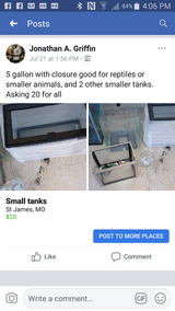 small tanks in Rolla, Missouri