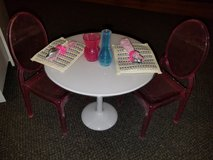 Table and Chairs for American Girl Dolls in Kingwood, Texas