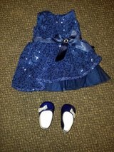 American Girl Doll Holiday Dress with Shoes in Kingwood, Texas
