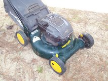 6.5 hp CRAFTSMAN REAR BAGGER LAWN MOWER in Hampton, Virginia